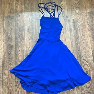 Lulus colbalt blue dress
